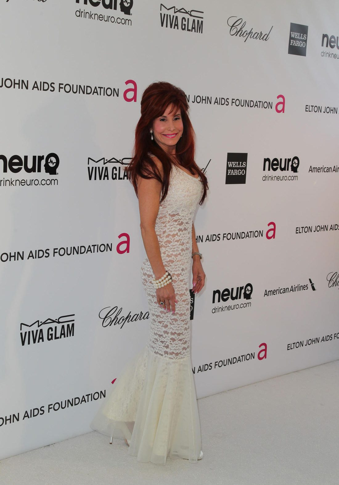 K05CMH Suzanne Delaurentiis. Red carpet arrivals at the Elton John Oscar Party in Los Angeles, California.